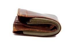 Wallet full of money Stock Images