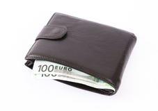 Wallet full of money Stock Photo