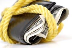 Wallet Full Of Cash Stock Photos