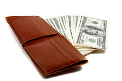 Free Wallet Full Of Money Royalty Free Stock Images - 11552399