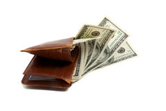 Free Wallet Full Of Money Royalty Free Stock Photography - 11597567