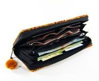 Wallet handmade Stock Image