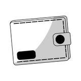 Wallet icon image Stock Photo