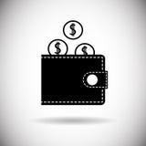 Wallet Icon Money Purse Stock Photos