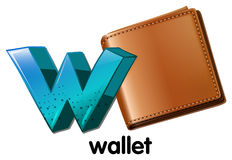 A wallet Stock Photo