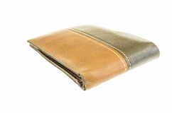 Wallet isolate Stock Photography