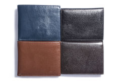 Wallet. Man still life product accessory wallet Royalty Free Stock Photography