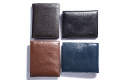 Wallet. Man still life product accessory wallet Stock Photos