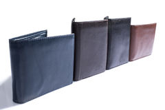 Wallet. Man still life product accessory wallet Royalty Free Stock Photo