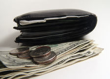 Wallet and Money Royalty Free Stock Image