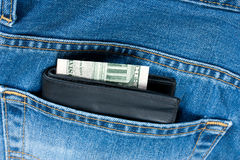Wallet money Royalty Free Stock Photos
