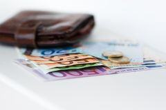 Wallet money Stock Photography