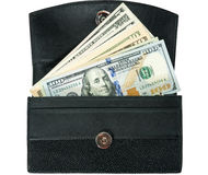 Wallet and money Royalty Free Stock Photography