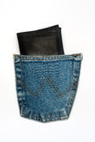 Wallet in pocket Royalty Free Stock Photography