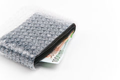 Wallet protection Royalty Free Stock Images