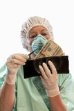 Wallet Surgery Stock Photos