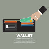 Wallet Vector Illustration Stock Image