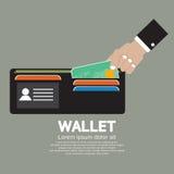 Wallet Vector Illustration Stock Image