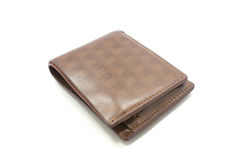 Wallet, white background Royalty Free Stock Photos