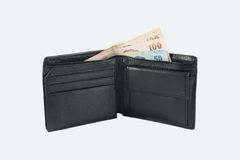 Wallet on white background Royalty Free Stock Images