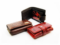 Wallets Royalty Free Stock Photography