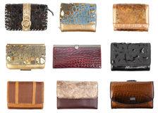 Wallets collection #1 | Isolated Royalty Free Stock Photography