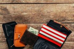 Wallets Stock Photo