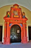 Wallfahrtskirche.Frontdoor. Stock Photos