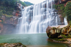 Wallfall scenery Stock Image