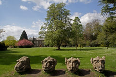 Wallington Hall Gargoyles Royalty Free Stock Photo