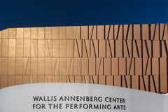Wallis Annenberg Center for the Performing Arts Royalty Free Stock Photos
