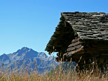 Wallis Chalets Royalty Free Stock Photos