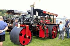 1924 Wallis & Steevens-Advance Steam Roller. Stock Photos