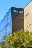 Office building of the Siemens company in Wallisellen, Switzerla Stock Image