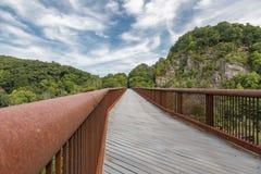Wallkill Valley Rail Trail Stock Photo