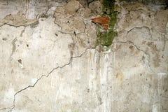 Walll del calcestruzzo di Brocken Fotografia Stock