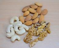 Wallnut dell'anacardio di Amonds immagine stock libera da diritti