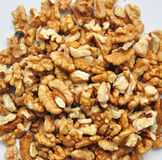 Wallnut kernel Royalty Free Stock Images