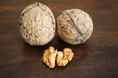 Wallnuts Royalty Free Stock Photos