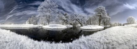 walloch озера островов Стоковое Фото
