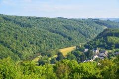 Wallonian landscape Stock Photos
