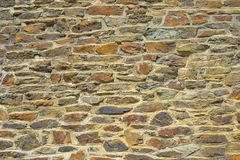 Walloon style of stonework. Typical Walloon style of stonework in Namur province, Belgium royalty free stock photography
