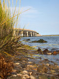 Wallops Island Queen's Sound Bridge Stock Photography