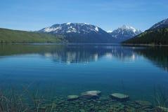 Wallowa Lake, Oregon. Beautiful Wallowa Lake in Oregon Royalty Free Stock Photos