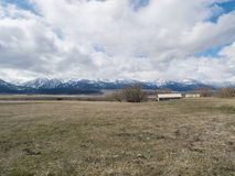 Wallowa Mountain Range Royalty Free Stock Images