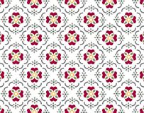 Wallpaer pattern. The background pattern is looking like textile Stock Photography