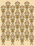 Wallpaper. Symmetric wallpaper vector illustration