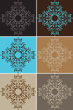 Vintage Wallpaper. This is a series of 6 different retro wallpapers witch are tillable Royalty Free Stock Image