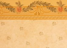 Wallpaper. Elegant wallpaper with floral motives Stock Photos