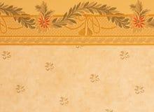 Wallpaper. Elegant wallpaper with floral motives stock photos